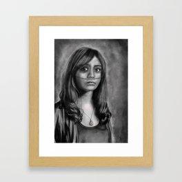Emma Decody-Bates Motel Framed Art Print