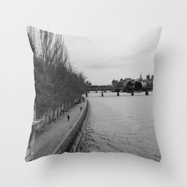 The Seine Throw Pillow