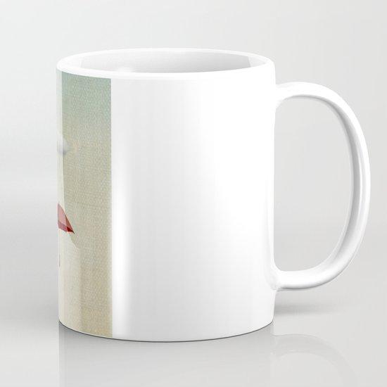 the umbrella filleth Mug