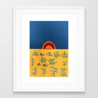 lions Framed Art Prints featuring Lions by Ben Giles