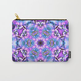 Ultra violet blue mandala Carry-All Pouch