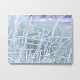 Wind Through the Grass Metal Print