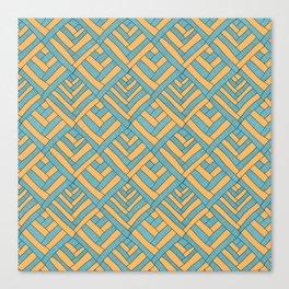 Geometric pattern Modern Canvas Print