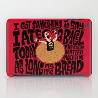 misfits iPad Cases featuring Last Bagel Caress by Chris Piascik