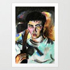 Donnie Darko Portrait Art Print