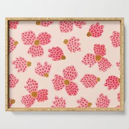 Painted Floral No. 22 Serving Tray