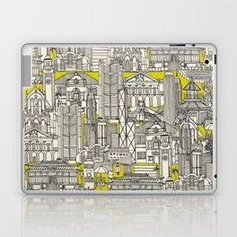 Hong Kong toile de jouy chartreuse Laptop & iPad Skin