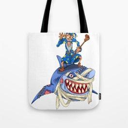 Halloween Shark Spooky Animal Lover Gift Idea Tote Bag