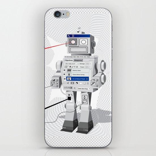 Photobot iPhone & iPod Skin