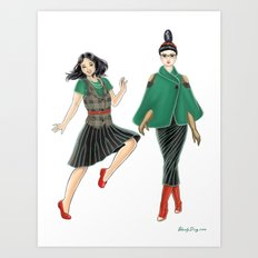 Fashion Journal: Day 5 Art Print