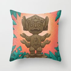 Tiki 626 Throw Pillow