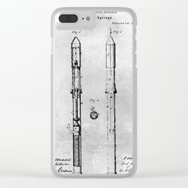 Hypodermic Syringe Clear iPhone Case