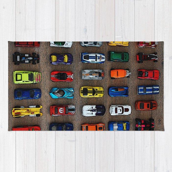 1980 S Toy Cars Rug By Kellystiles Society6