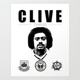 Clive Charles Art Print