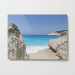 Greece - Lefkada Metal Print