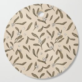 Mistletoe Pattern Cutting Board