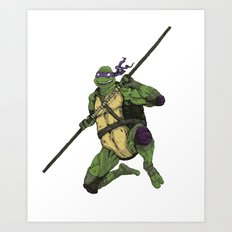 Donatello Art Print