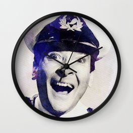 Kenneth Williams, Carry On Actor Wall Clock