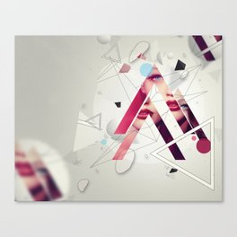 A Mess By Someone Before Canvas Print
