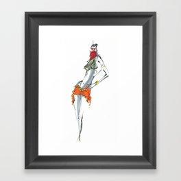 Dance for me Framed Art Print