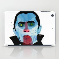 vampire iPad Cases featuring Vampire by Alvaro Tapia Hidalgo