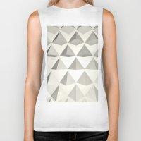 pyramid Biker Tanks featuring Pyramid by Lauren Miller