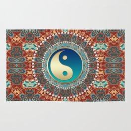 Bohemian Batik Yin Yang Rug