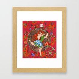 CHABBY & PRETTY Framed Art Print