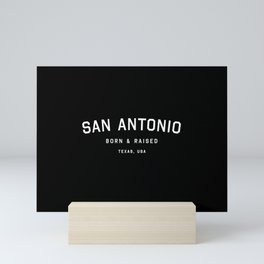 San Antonio - TX, USA (Arc) Mini Art Print