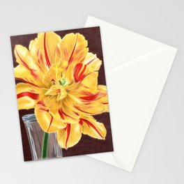 Tinge of Red Stationery Cards