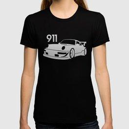 Porsche 911 - silver - T-shirt