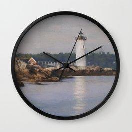 Portsmouth Harbor Light Wall Clock