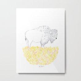 Roam. Metal Print