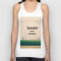 indiana Tank Tops featuring Indiana by KimberosePhotography