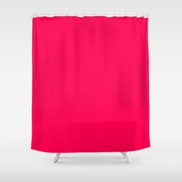 Folly - solid color Shower Curtain