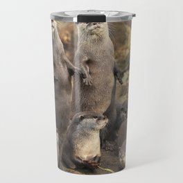 Otters Travel Mug