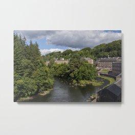 New Lanark, Scotland Metal Print