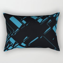 3D Futuristic BG X.1 Rectangular Pillow