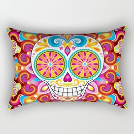 Sugar Skull (Trip the Light) Rectangular Pillow
