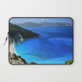 myrtos beach, kefalonia Laptop Sleeve