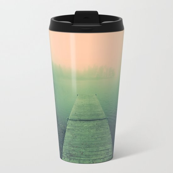 Drowning echoes Metal Travel Mug