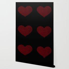 ASCII heart C64 Wallpaper
