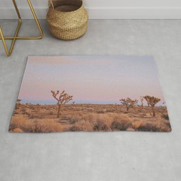 Desert Sunset XII / Joshua Tree, California Rug