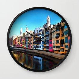 Girona Wall Clock