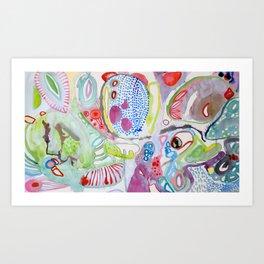 mitochondries Art Print