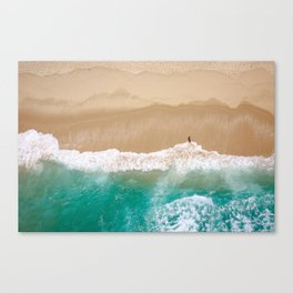Peace to the Sea Canvas Print