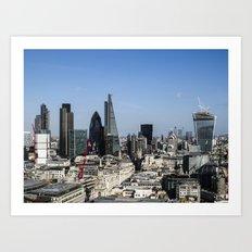 The City of London Art Print