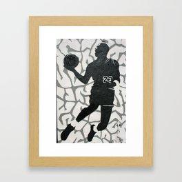 Number 23 Framed Art Print