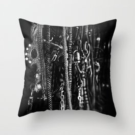 Tack on the Wall Throw Pillow