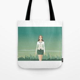 Independent Business Woman Tote Bag